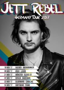 Jett Rebel - Germany Tour 2017